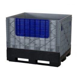 Tilaa säästävä kokoontaitettava muovinen suurlaatikko